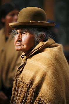 Quechua Woman - Lima Peru by Alex Bramwell