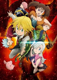 """Funimation Snags Home Video Rights To """"The Seven Deadly Sins"""" Season 1 by Mike Ferreira"""