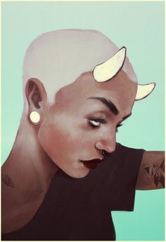 they crossed my horns out by andrahilde on DeviantArt