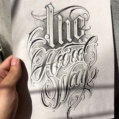 hard way ✍🏼 The hard way ✍🏼 ✍🏼 The hard way ✍🏼 , - hard way ✍🏼 The hard way ✍🏼 ✍🏼 The hard way ✍🏼 , - Majuscule F variants by Polish calligrapher Barbara Galinska on Behance Majuscule T variants by Polish calligrapher Barbara Galins. Calligraphy Tattoo Fonts, Tattoo Lettering Design, Tattoo Fonts Alphabet, Gothic Lettering, Graffiti Lettering Fonts, Chicano Lettering, Graffiti Tattoo, Calligraphy Words, Tattoo Design Drawings