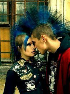 Mohawk Couple