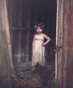 Flower Girl Dress Lace Flower Girl Dress by FlowerGirlsCouture