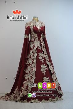 Bindallı modelleri online satış You can find different rumors about the real history of the wedding dress; tesettür First Narration; Pakistani Bridal Dresses, Wedding Dresses, Turkish Wedding, Pakistan Wedding, Fantasy Gowns, Muslim Dress, Moda Emo, Beautiful Gowns, Indian Outfits