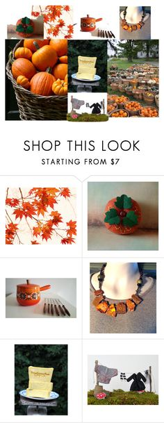 """""""Pumpkins Galore!"""" by greenbriarcreations ❤ liked on Polyvore featuring interior, interiors, interior design, home, home decor, interior decorating, Murphy and WALL"""