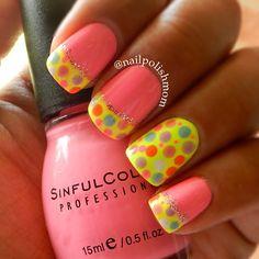 Instagram photo by  nailpolishmom  #nail #nails #nailsart