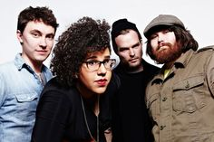 Alabama Shakes... Heath Fogg-Brittany Howard-Steve Johnson and Zac Cockrell