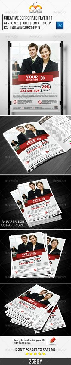 Creative Corporate Flyer 11 Check Out This Great Design