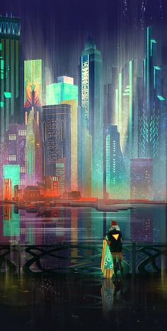 Transistor by Night Art Print
