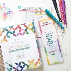 The new accessories from @erincondren give me heart eyes. Super stoked on the dry erase markers. #ECHourly #ErinCondren #ErinCondrenLifePlanner #PlannerAddict #PlannerJunkie #PlannerLife #PlannerSupplies #ECLP