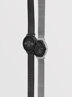 """Skagen's minimal smartwatch made without """"unnecessary complications"""" Stylish Watches, Cool Watches, Watches For Men, Casual Watches, Dezeen Watch, Android Wear Smartwatch, Inspirational Gifts, Watch Brands, Smart Watch"""