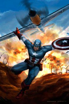 Captain America War Hero