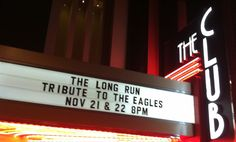 EAGLES TRIBUTE...THE LONG RUN @ CANNERY