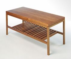 Simple Coffee Table... Wonder If We Could Make This.