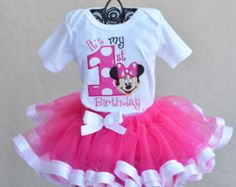 minnie mouse birthday outfit – Etsy