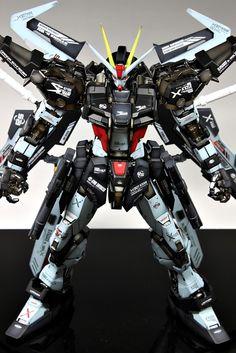 PG 1/60 GAT-X105E Strike Noir Gundam - Custom Build Modeled by Suny Buny (Skull) More images added! CLICK HERE TO VIEW FULL POST...