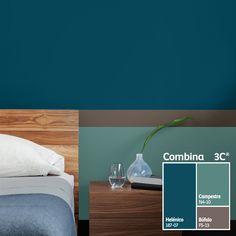 Los colores fríos son sobrios y elegantes. Son ideales para darle tranquilidad a tu hogar.