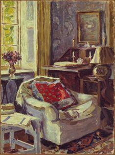 Duncan Grant --- Artist's Study at Charleston, 1967