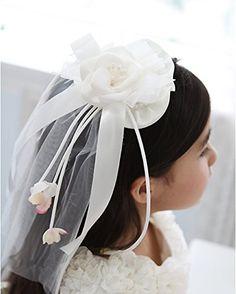 Drasawee Flower Girl Headpiece Wedding Communion Pillbox Hat Veil With Clips Drasawee http://www.amazon.com/dp/B00YIGJX32/ref=cm_sw_r_pi_dp_PvVcxb037PV40