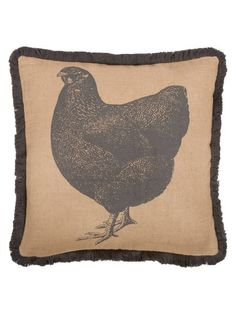 Hen Pillow by thomaspaul at Gilt