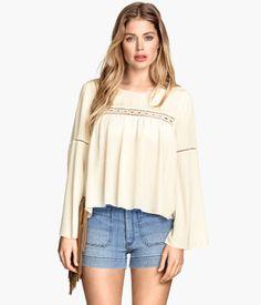 H&M Crinkled blouse $39.95