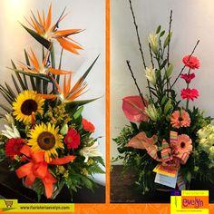 ¿Cuál de estos arreglos florales prefieres para regalar a esa persona especial?  Cotiza tu arreglo en el 2263-2384. ¡Será un placer servirte!