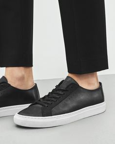 Kate Low top sneaker in new materials. New version in optic white playing with different structures and materials. White rubber sole for both. Season update with colour inserted part in the bottom sole and lining and insock in calf leather.
