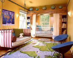 jungenzimmer gestalten braun und grün einrichtungsideen bunte ... | {Jungenzimmer gestalten 66}