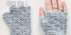 Fingerless Gloves - Free Crochet Pattern