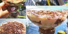 Fehérjés pohárdesszert Pudding, Vegan, Desserts, Free, Tailgate Desserts, Deserts, Puddings, Postres, Dessert