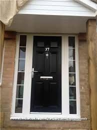 black front door with sidelightsexterior entry doors front doors560 x 600 72 kb jpeg x  Design