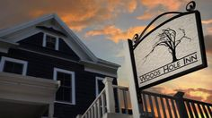 Woods Hole Inn. Perched on the edge of Woods Hole Harbor, steps from the Martha's Vineyard ferry, the Woods Hole Inn is the perfect place to start your Cape Cod vacation.
