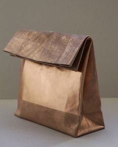 Image of SACO DE PAPEL GRANDE/+ copper square
