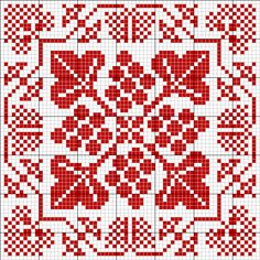 Square tapestry pattern 3