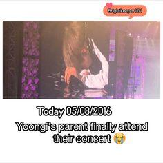 I'm cryin finally they came #BTS #SUGA #YOONGI