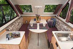 Alpine Chalet Rv A Frame Camper Travel Trailer Interior