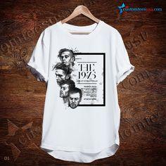 The 1975 Live At Ayala Malls Band T-Shirt – Adult Unisex Size S-3XL