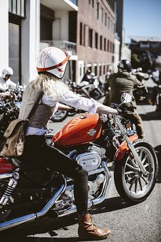 motorcycle and girl!