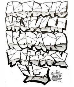 Resultado De Imagen Lettering Fonts Graffiti