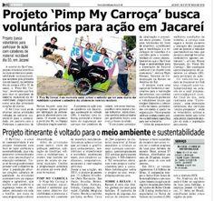 Pimp My Carroça no jornal Diário de Jacareí.