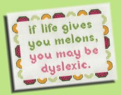 Funny Cross Stitch Pattern If Life Gives You by KittyCrackernuts, $5.00