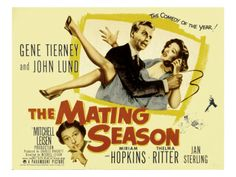 The Mating Season.  Thelma Ritter is great in any movie she's in!