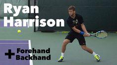 Ryan Harrison I Forehand & Backhand I Miami Open 2015