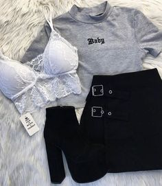 Aesthetic # ästhetische Mode Source by shx… – Outfits Cute Comfy Outfits, Cute Casual Outfits, Edgy Outfits, Swag Outfits, Mode Outfits, Retro Outfits, Grunge Outfits, Fall Outfits, Korean Outfits
