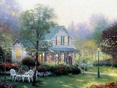 Home Is Where the Heart Is 05  Thomas Kincaid