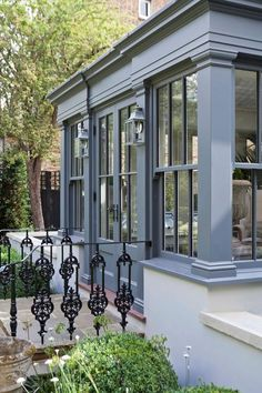 Dual Level Orangery and Rooflights Transform a London Townhouse: Conservatory by Vale Garden Houses, Eclectic Garden Room Extensions, House Extensions, Orangerie Extension, London Townhouse, London House, House Extension Design, Rustic Home Design, Design Case, Design Design
