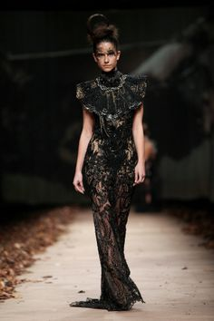 LADY X' by @Matija Vuica #fashion #glamour #redcarpet #beauty How To Make Clothes, Lovely Dresses, High Collar, Lady, Corset, Red Carpet, Fall Winter, Feminine, Fashion Glamour