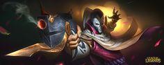 "nart - Jhin, Alex Heath : ""This is your curtain call."" Fan art of new LOL champion Jhin! League Of Legends Poster, League Of Legends Video, League Of Legends Characters, Jhin The Virtuoso, Lol Champions, Xayah And Rakan, Speed Art, Gun Art, Dark Star"
