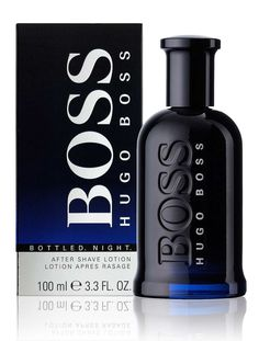 Hugo Boss Black Bottled Night After Shave Lotion 50ml