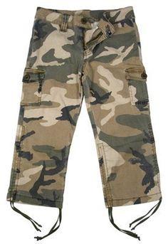 Subdued Woodland Camouflage Girls Vintage Capri Pants Rothco, http://www.amazon.com/dp/B000JGIDV8/ref=cm_sw_r_pi_dp_xGddrb10FZ0DX