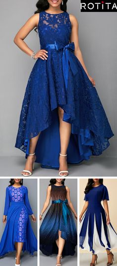 Formal dinners to work events and casual fall afternoons,our women's blue dress selection features something fllatering for every occasion!Huge selection with new styles added every day. Grad Dresses, Event Dresses, Homecoming Dresses, Bridesmaid Dresses, Fall Formal Dresses, Cheap Blue Dresses, Pretty Dresses, African Fashion Dresses, Beautiful Gowns